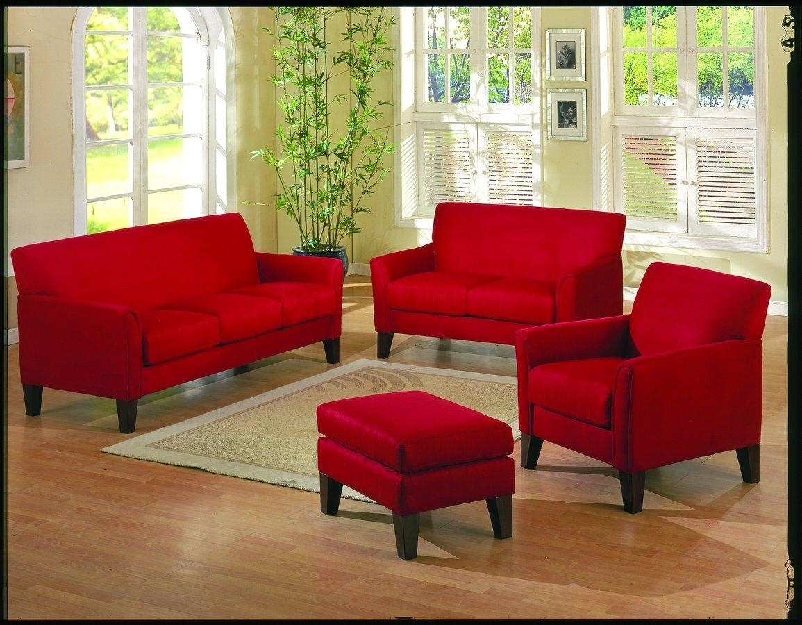 Red Sofas And Chairs | Tehranmix Decoration Regarding Red Sofas And Chairs (Image 15 of 20)