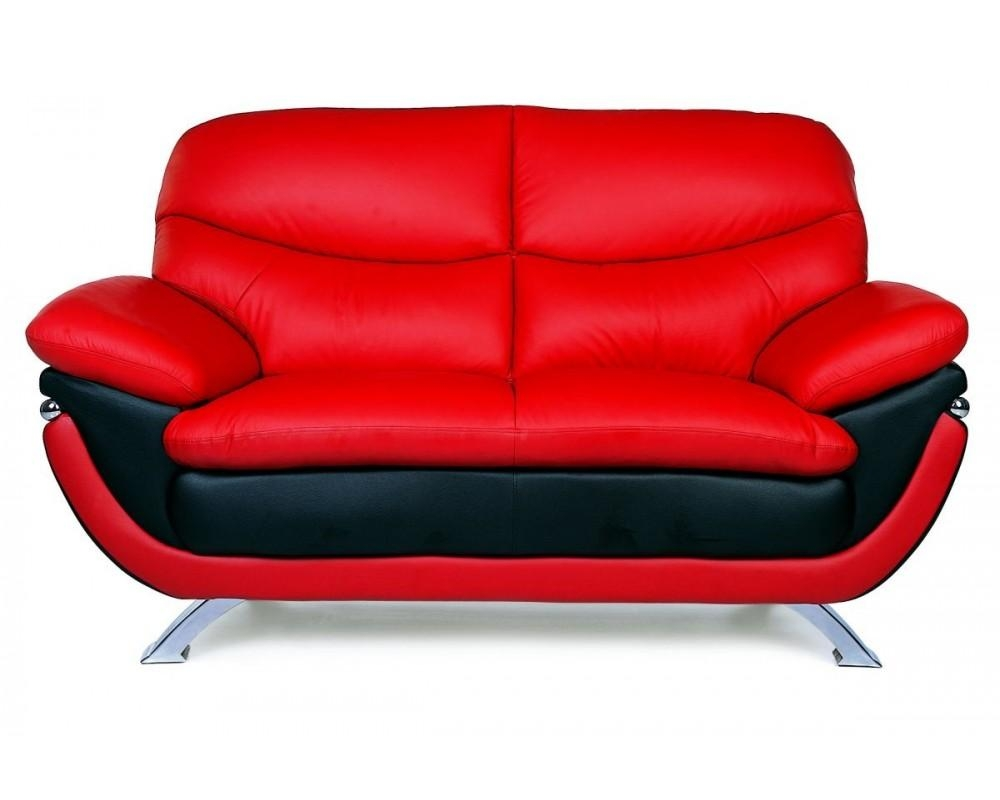 Red/black Sofa + Loveseat For Sofa Red And Black (View 8 of 20)