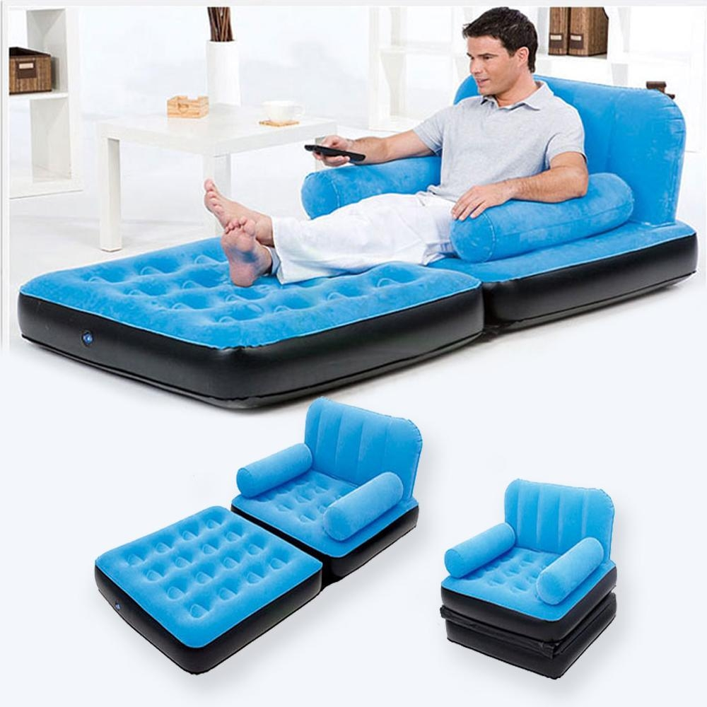 Remarkable Sleeper Sofa With Air Mattress Alluring Interior Design Inside Inflatable Pull Out Sofas (Image 19 of 20)