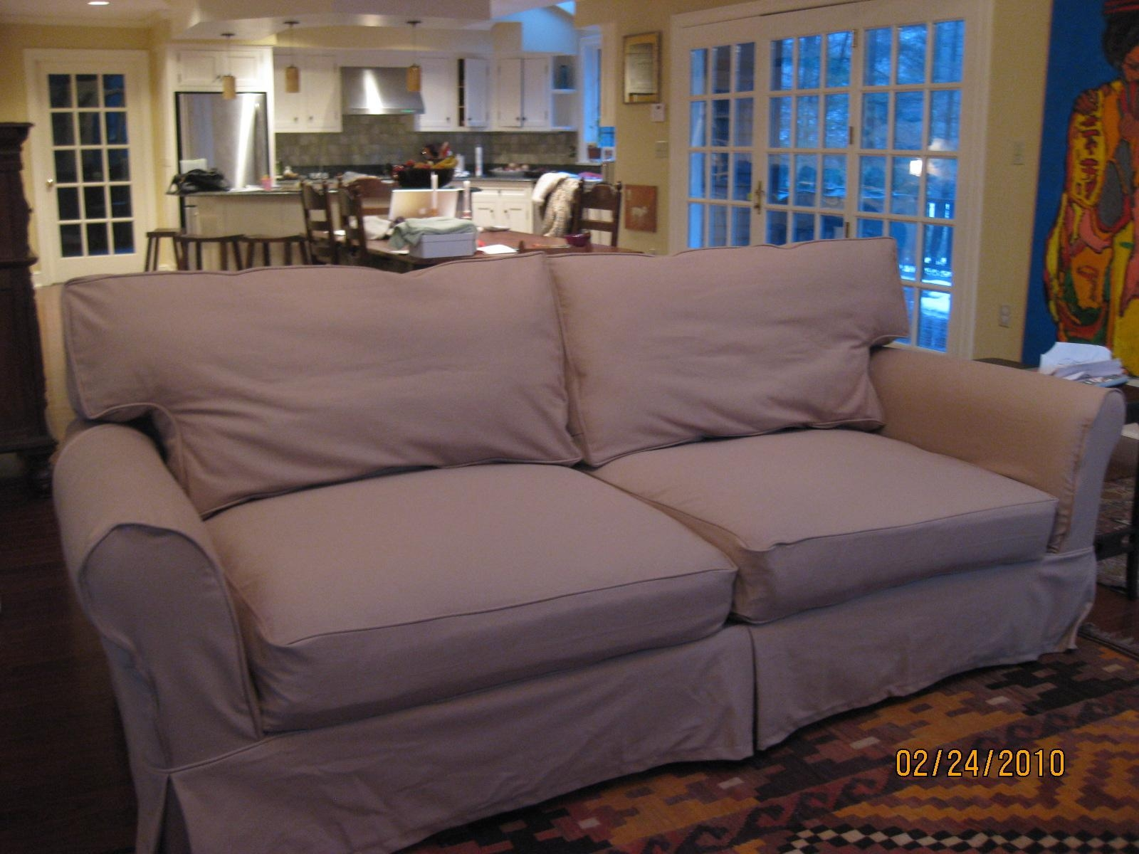 Replacement Slipcover Outlet Replacement Slipcovers For Famous Inside Mitchell Gold Sofa Slipcovers (View 8 of 20)