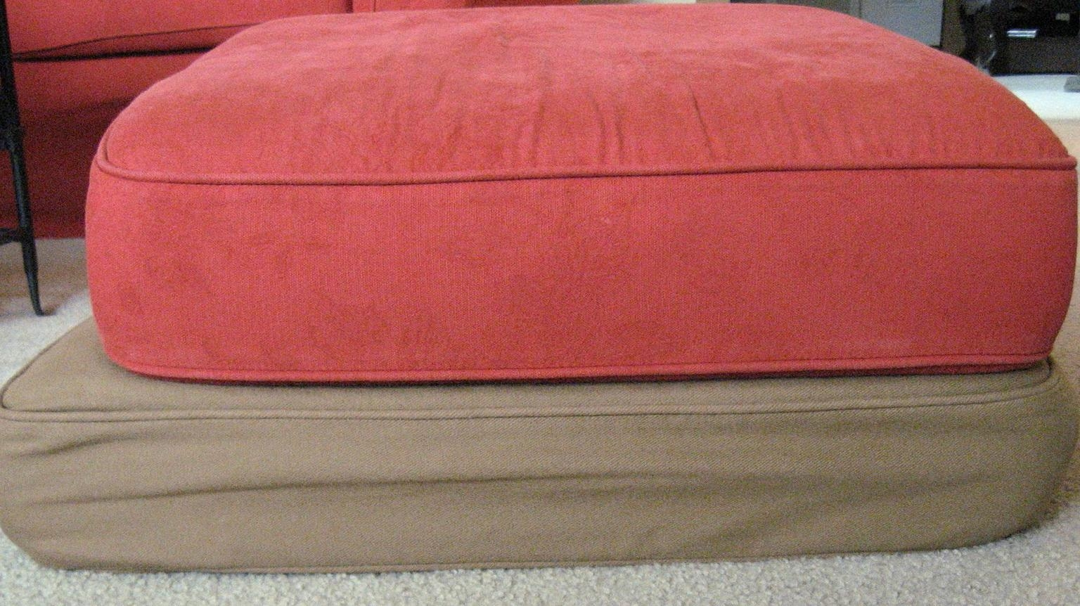 Replacement Sofa Cushions. Replacement Torrey Rollarm Sofa Cushion In Sofa Cushion Covers (Photo 7 of 20)