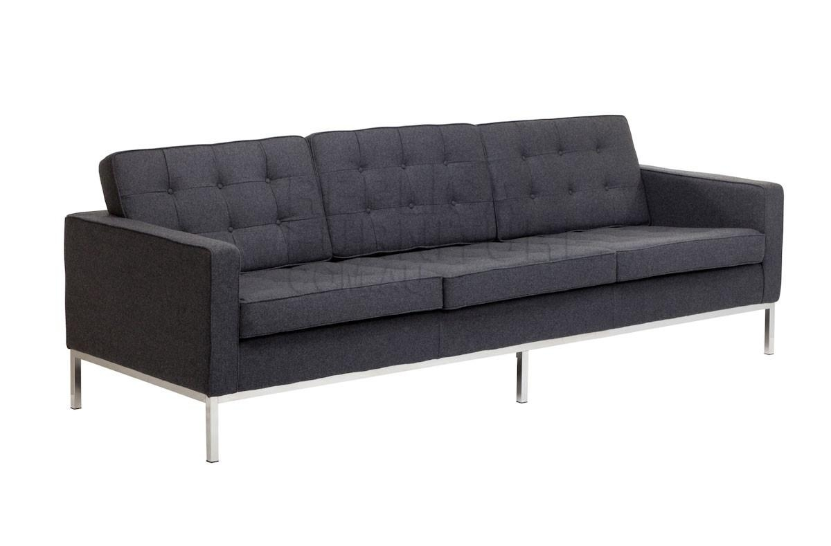 Replica Florence Knoll 3 Seater Sofa | Goodca Sofa Inside Florence Knoll 3 Seater Sofas (View 5 of 20)