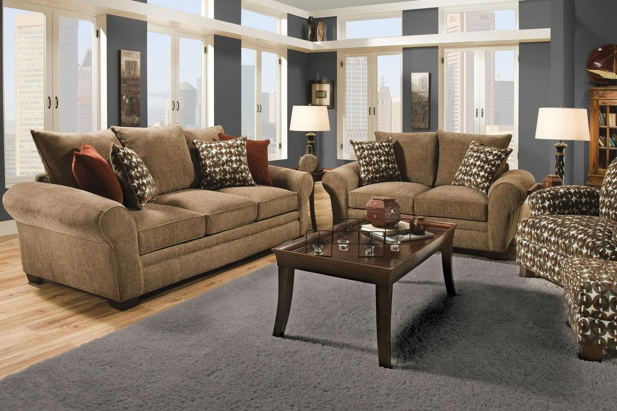 Resort Chenille Queen Sleeper Sofa Within Chenille Sleeper Sofas (View 11 of 20)