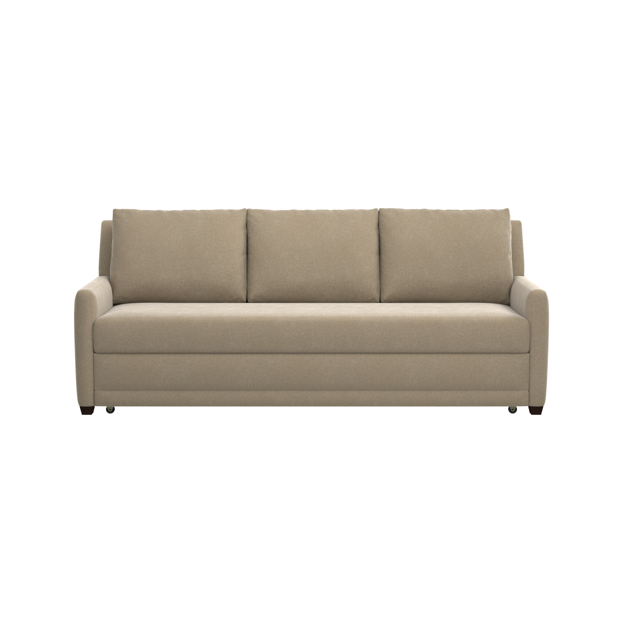 Reston Queen Sleeper Sofa | Crate And Barrel Pertaining To Crate And Barrel Sofa Sleepers (Image 15 of 20)