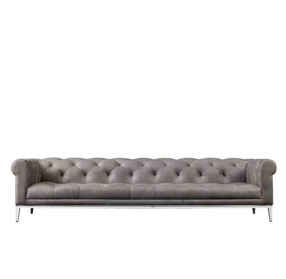 Restoration Hardware Goes Modern With Full Home Collection Pertaining To Modern Sofas Houston (Image 11 of 20)