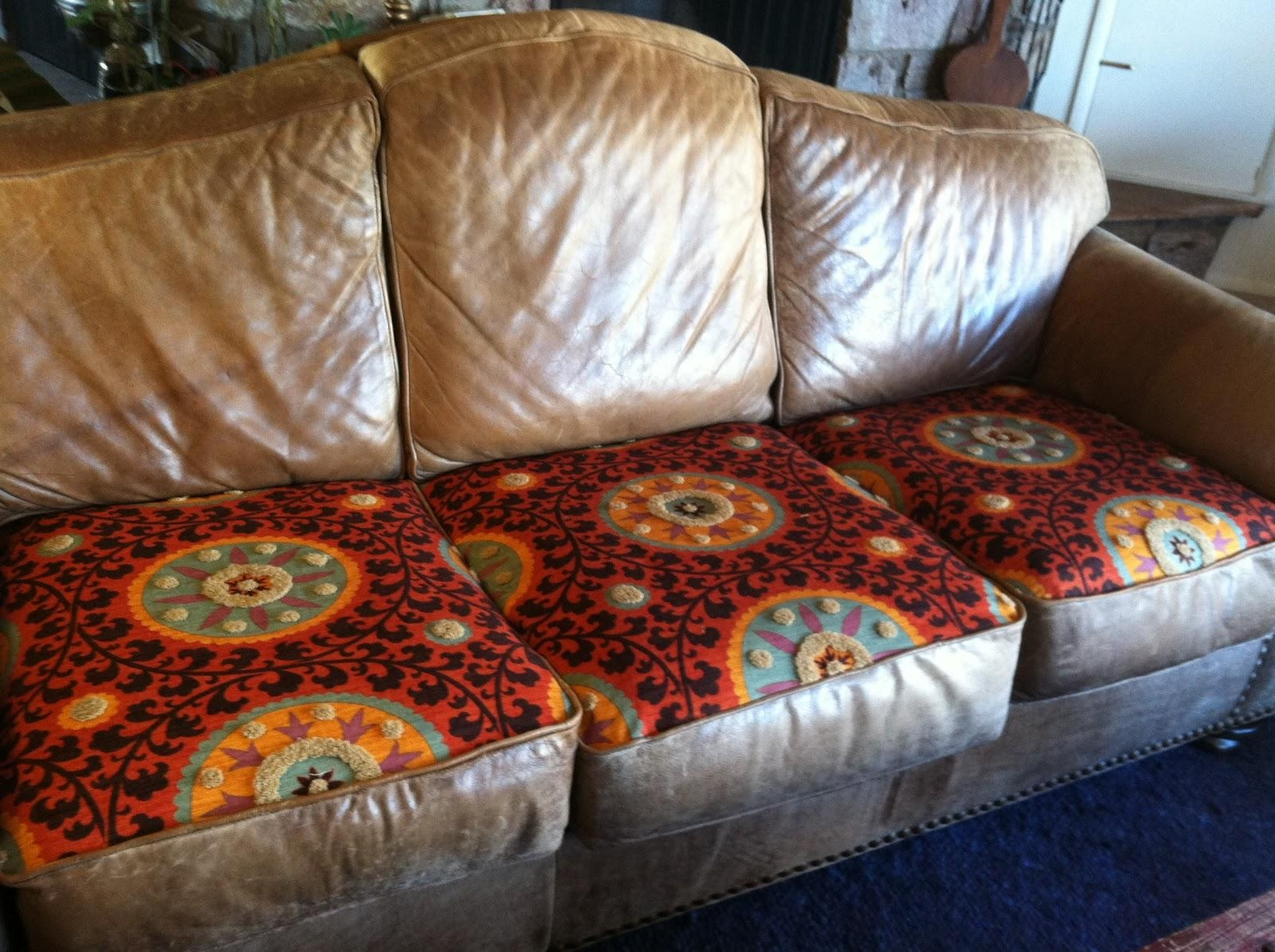 Reupholstering sofa cushions mesmerizing reupholster for Cushions for leather sofas