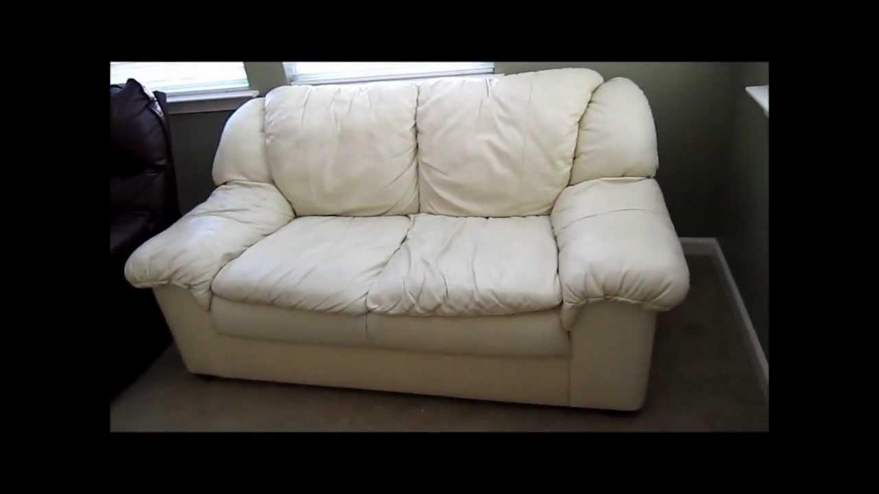 Review Followup: Not All Leather Furniture Are Equal – Youtube Intended For Blair Leather Sofas (Image 13 of 20)