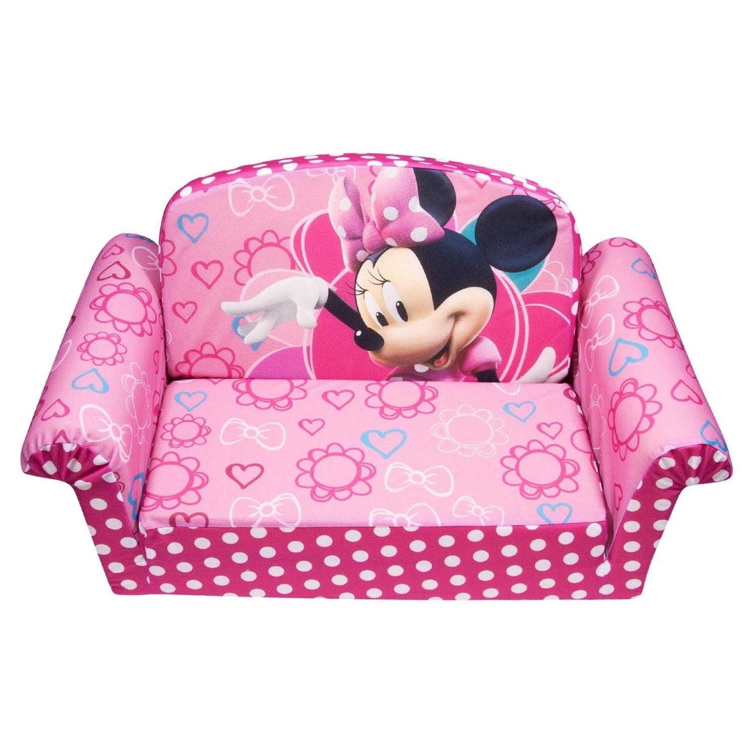 Review: Marshmallow Children's Furniture – 2 In 1 Flip Open Sofa Inside Mickey Fold Out Couches (Image 8 of 20)