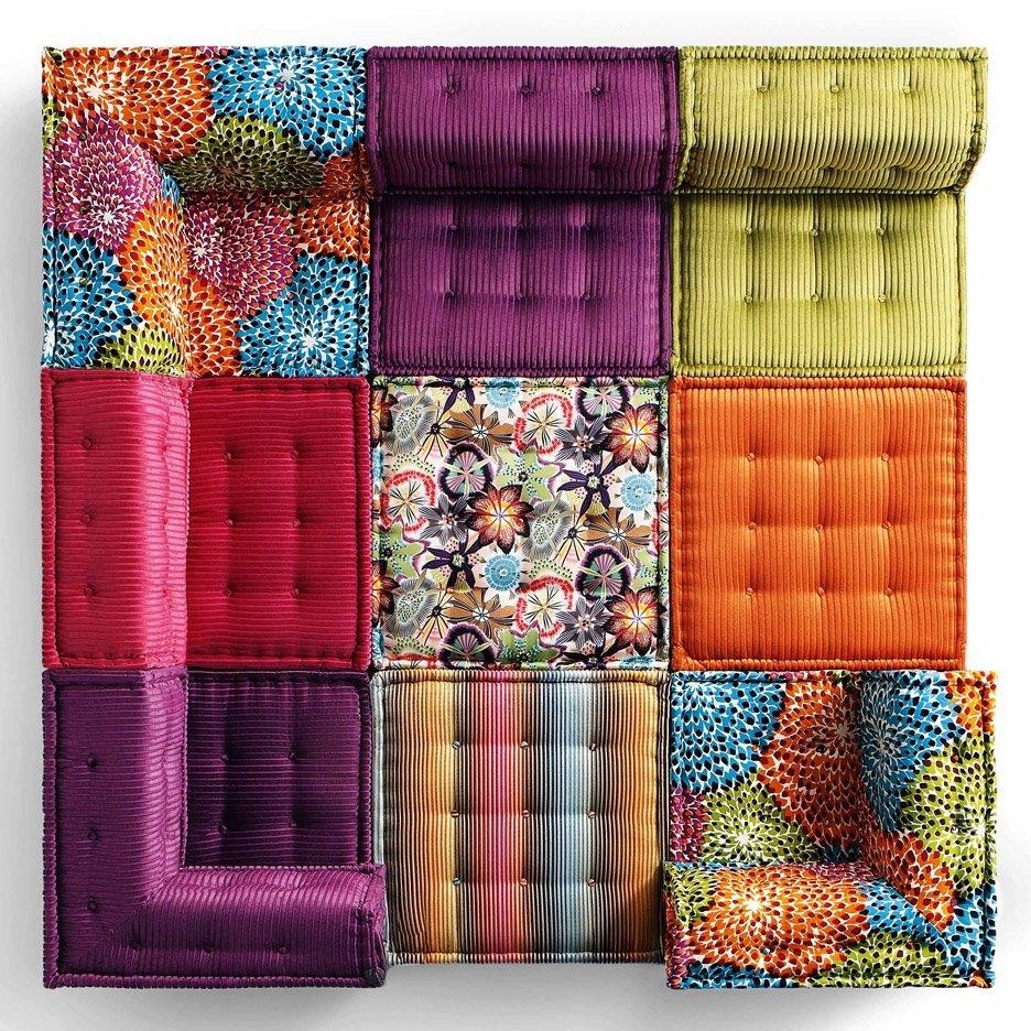 Roche Bobois' Mah Jong Sofa In New Movie And Recreated For Charity For Mahjong Sofas (Image 15 of 20)