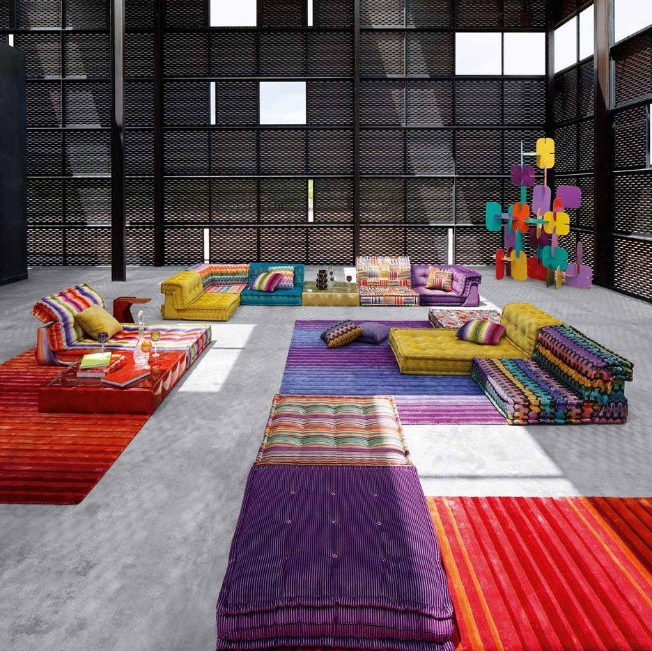 Roche Bobois' Mah Jong Sofa In New Movie And Recreated For Charity In Mahjong Sofas (Image 16 of 20)