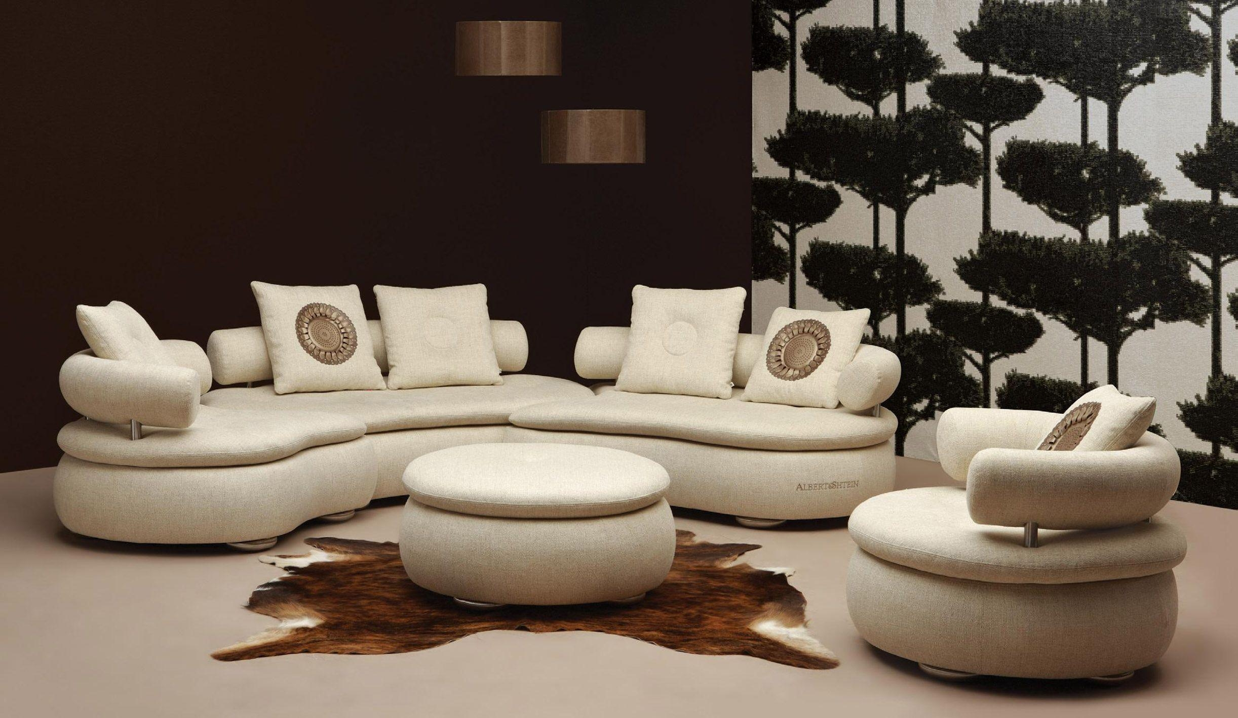 Round Sectional Sofa For Unique Seating Alternative – Traba Homes Intended For Round Sofas (View 12 of 20)