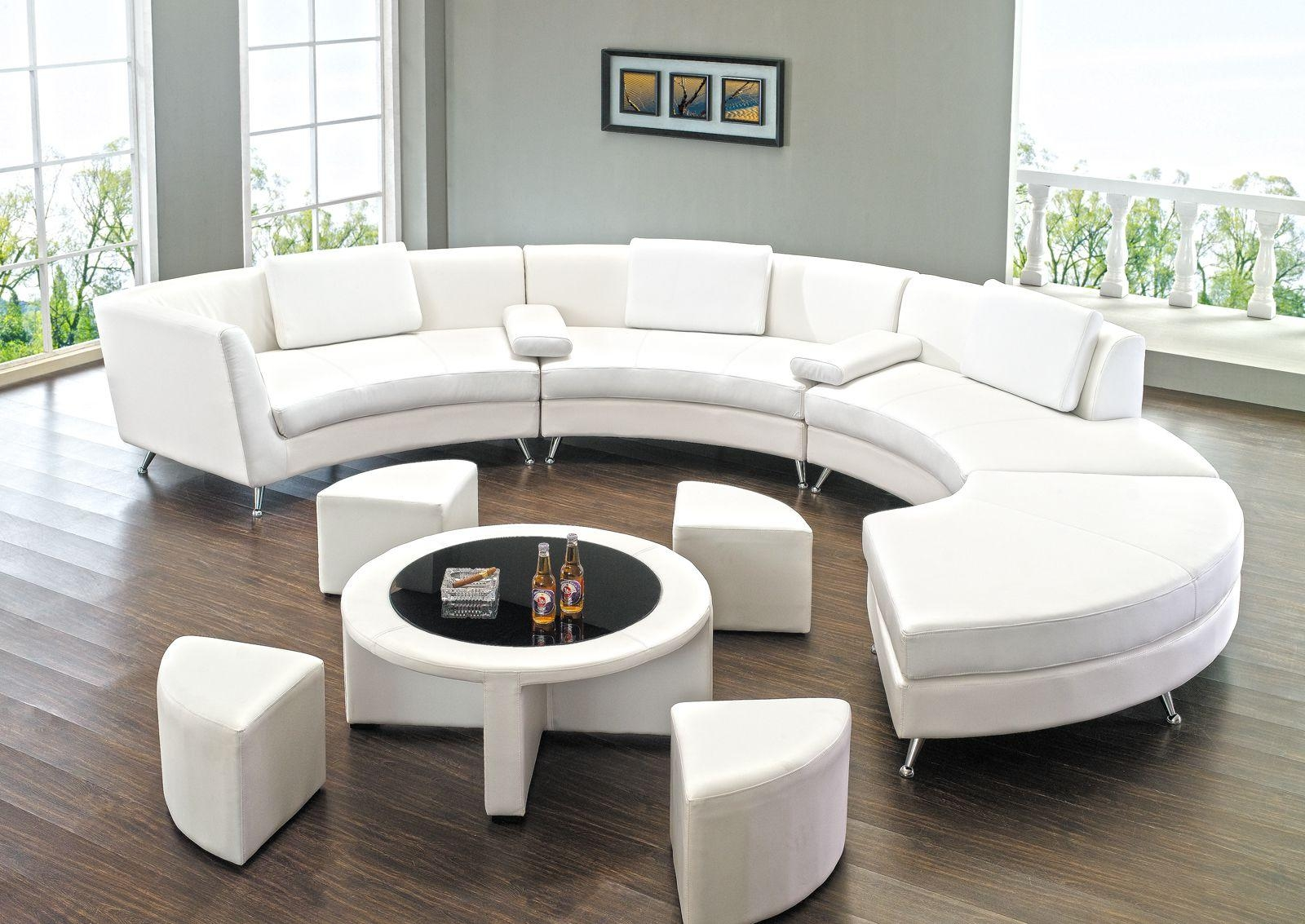 Round Sectional Sofa For Unique Seating Alternative – Traba Homes Throughout Round Sectional Sofa (View 4 of 20)