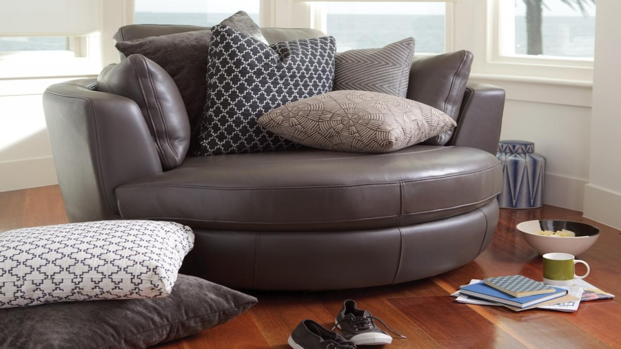 Round Sofa Chair Living Room Furniture (Image 10 of 20)