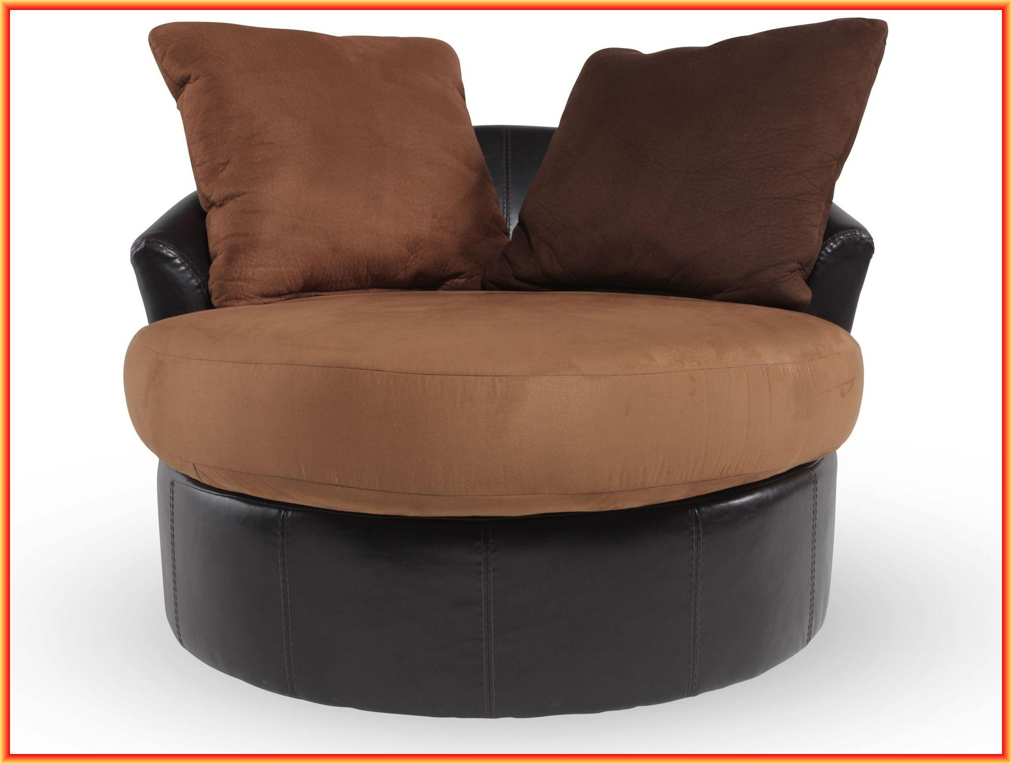 Round Swivel Chairs For Living Room For Round Sofa Chair Living Room Furniture (Image 16 of 20)
