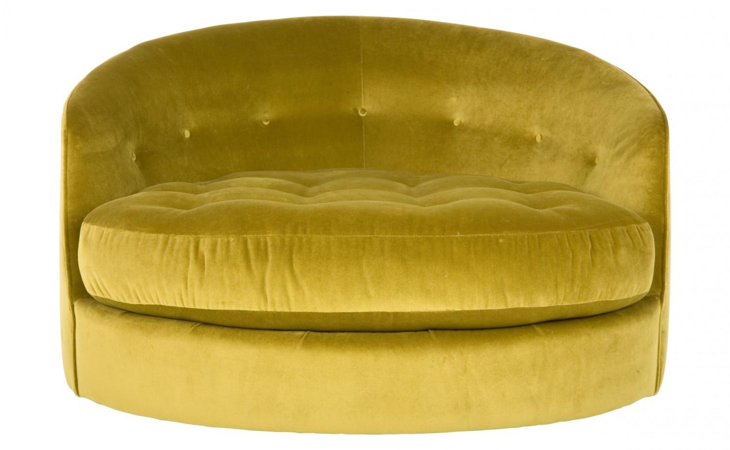 Round Swivel Sofa Chair 19 With Round Swivel Sofa Chair Inside Round Sofa Chair (Image 12 of 20)