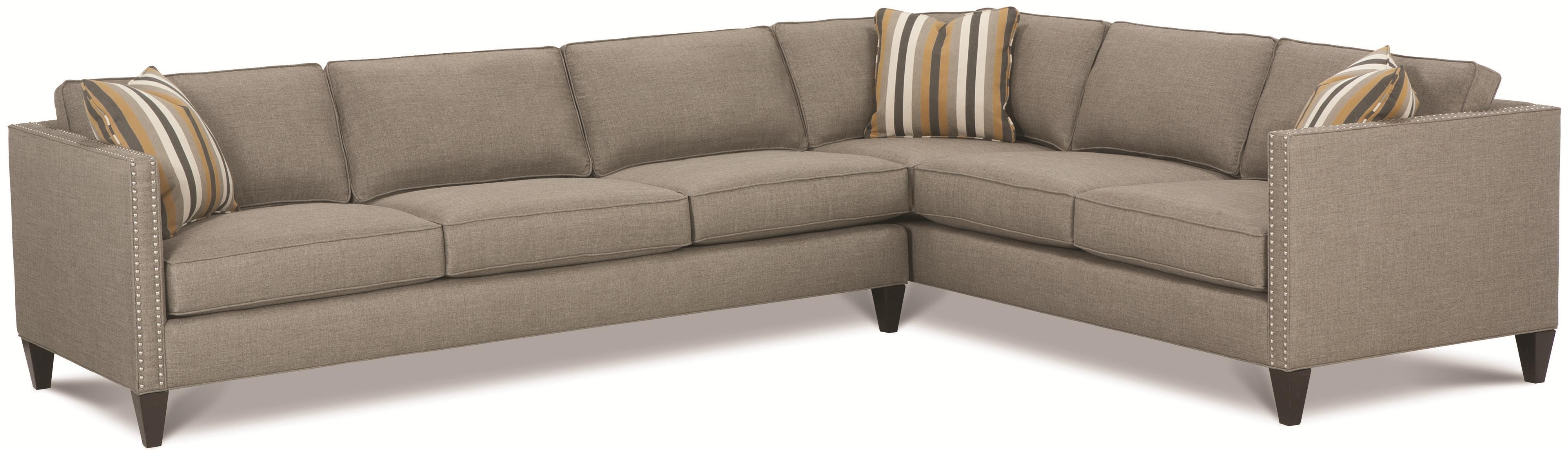 Rowe Mitchell – Rxo <B>Customizable</b> Contemporary Sectional Within Rowe Sectional Sofas (View 4 of 20)
