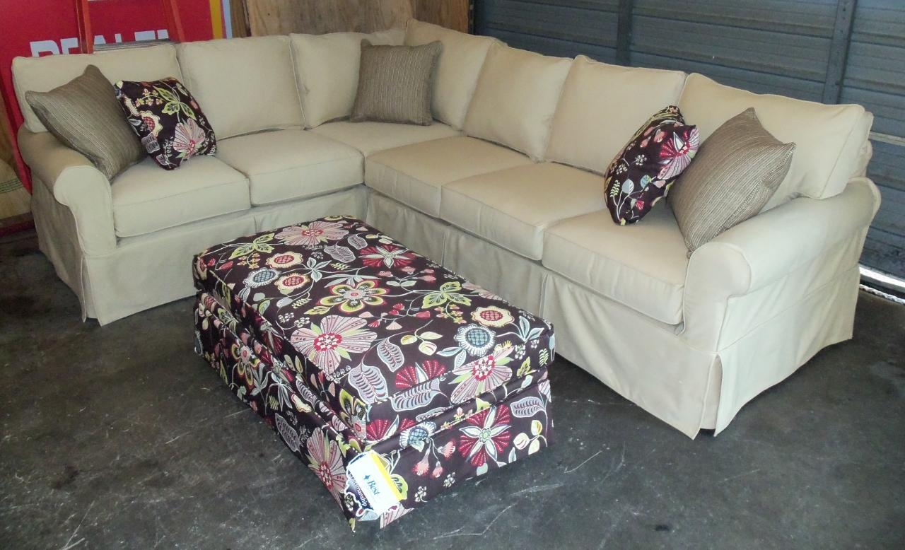 Rowe Slipcovered Sectional Sofa | Tehranmix Decoration Pertaining To Rowe Sectional Sofas (Image 12 of 20)