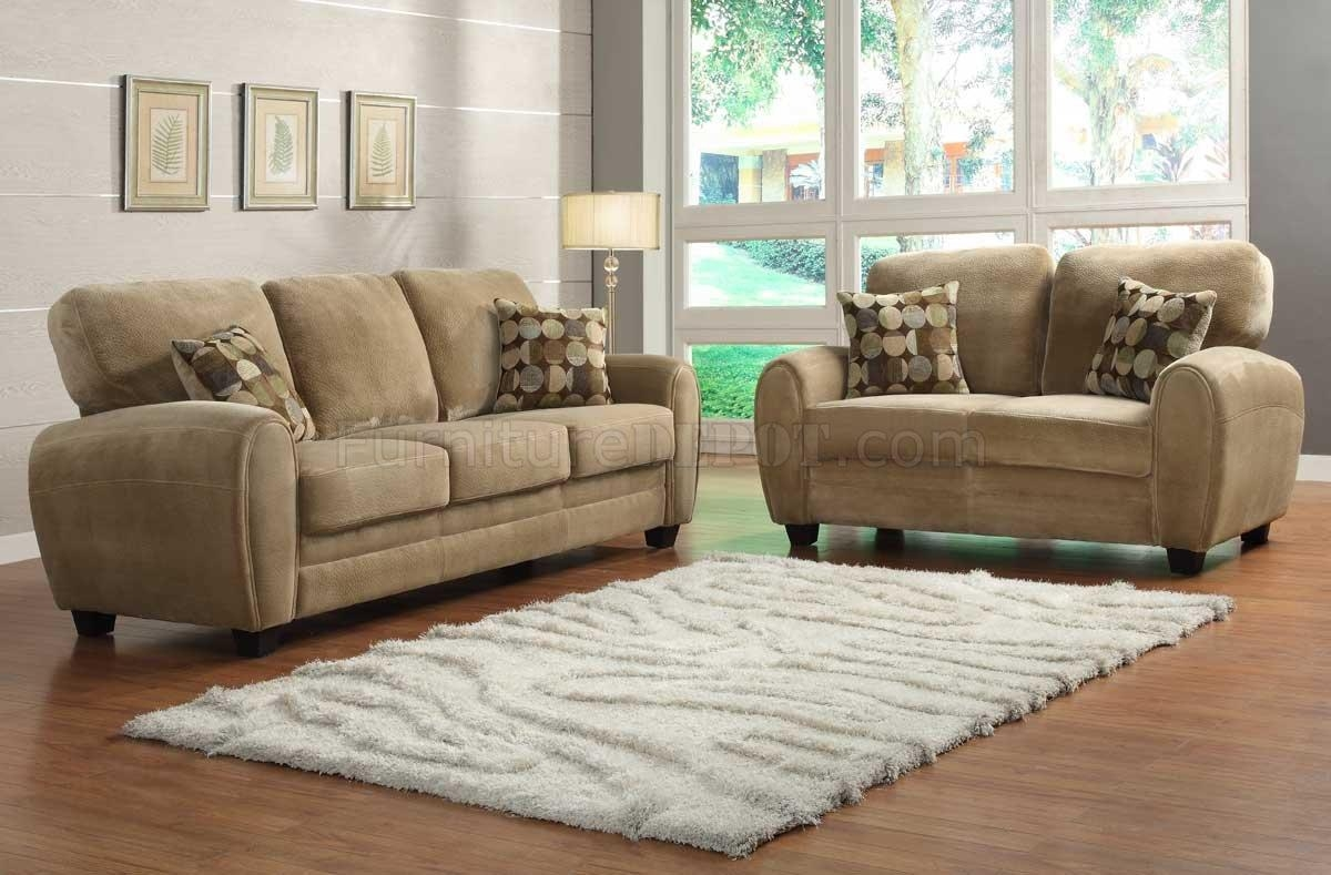 Rubin Sofa 9734Brhomelegance In Light Brown W/options In Homelegance Sofas (View 7 of 20)