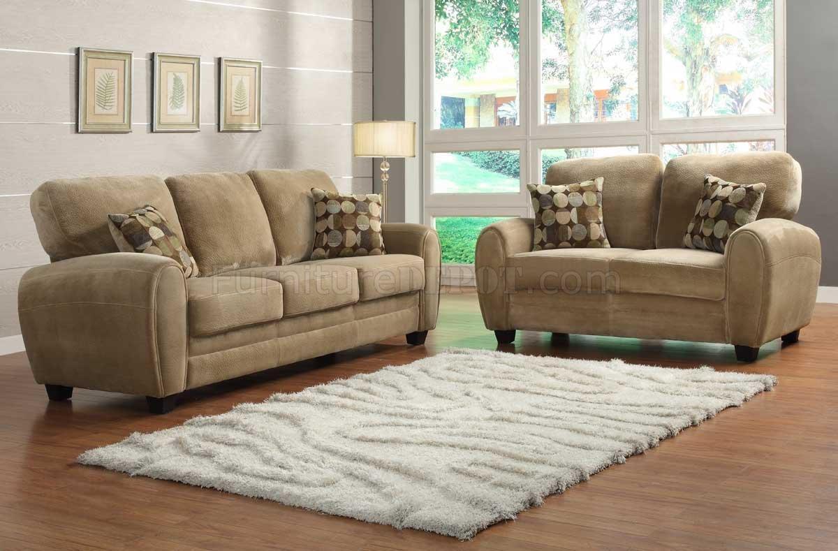 Rubin Sofa 9734Brhomelegance In Light Brown W/options In Homelegance Sofas (Image 18 of 20)