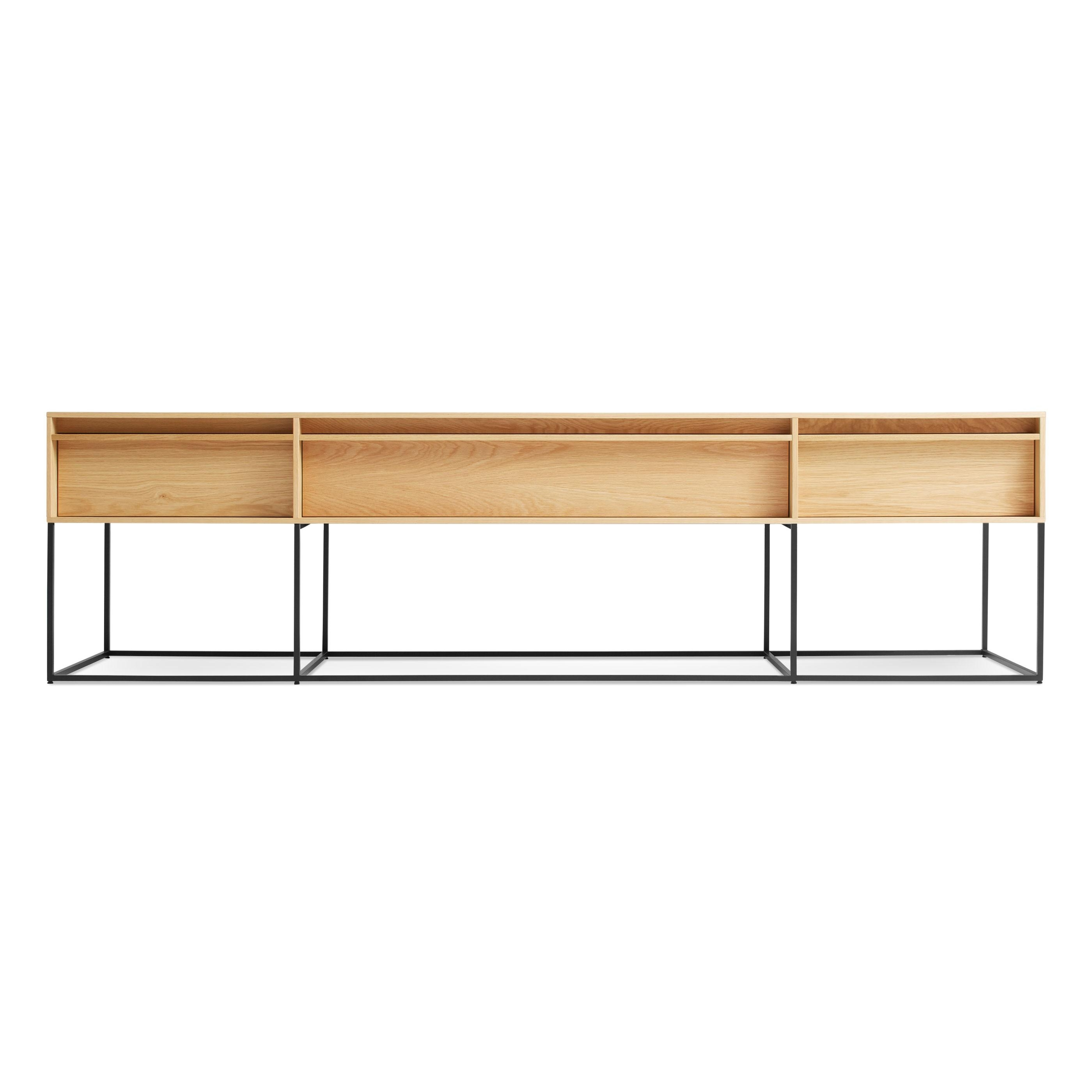 Rule Long & Low – Long Low Console Table | Blu Dot With Regard To Low Sofa Tables (View 14 of 20)