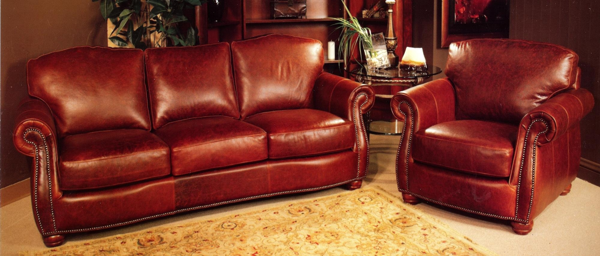 Rustic Sofas And Chairs | Tehranmix Decoration In Red Sofas And Chairs (Image 17 of 20)