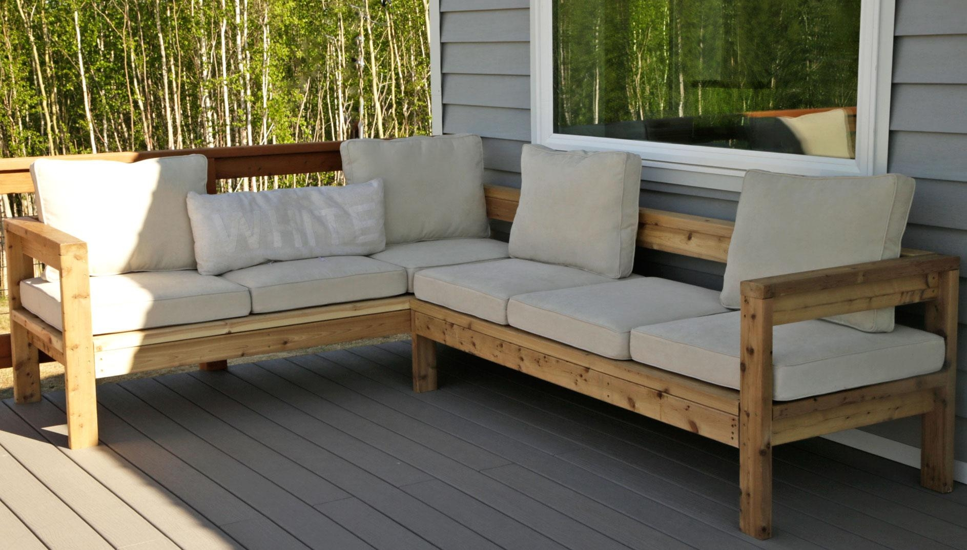 20 Collection Of Ana White Outdoor Sectional Sofas Sofa