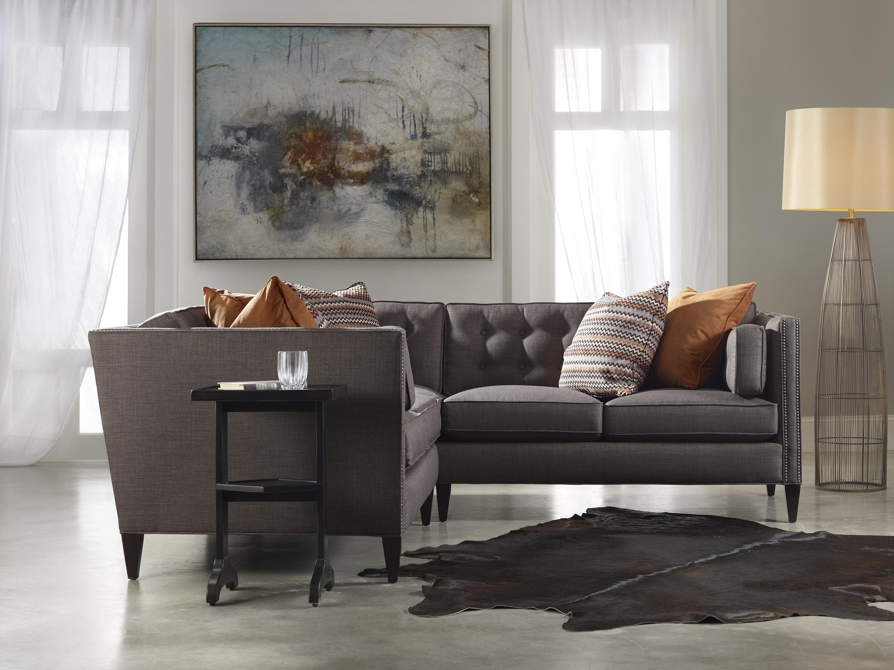 Sam Moore Eaton Contemporary Two Over Two Sofa With Nailhead Trim Within Sam Moore Sofas (View 11 of 20)