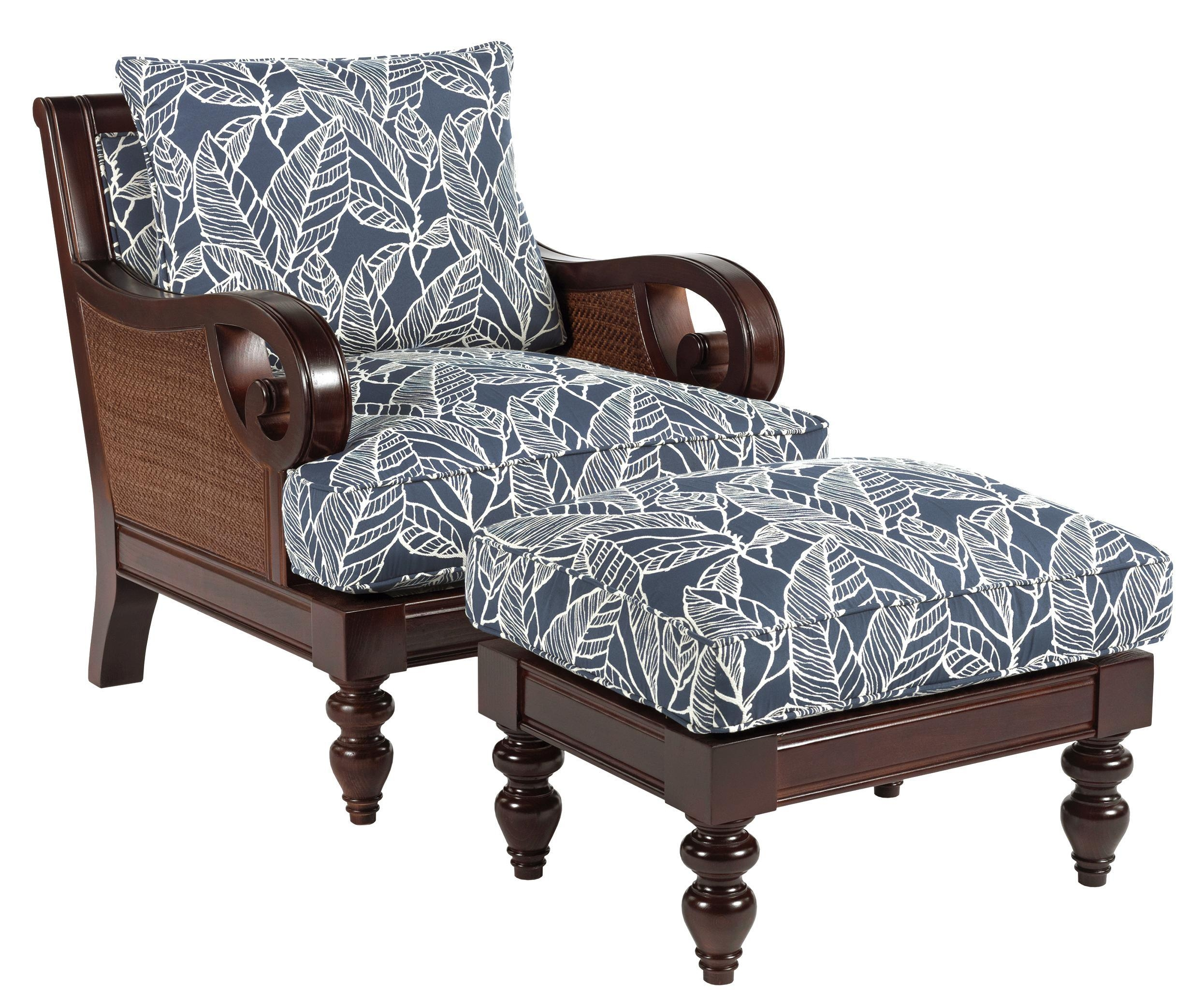 Sam Moore Tailynn Tropical Sofa With Exposed Wood And Scrolled With Sam Moore Sofas (View 16 of 20)