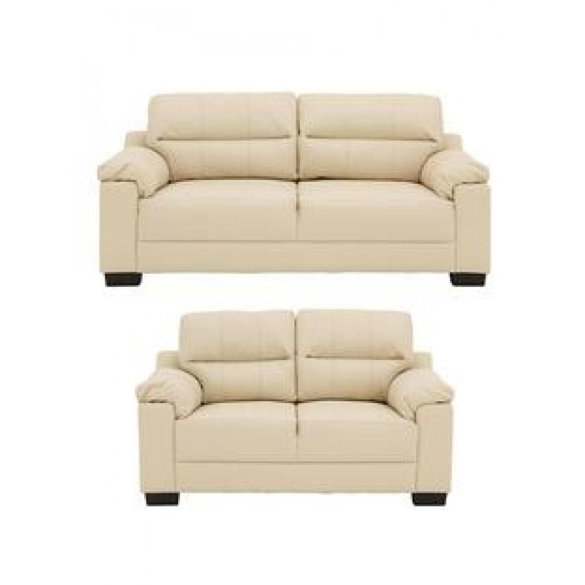 Saskia 3 Seater Plus 2 Seater Sofa Set – Furnico Village Regarding 2 Seater Sofas (Image 18 of 20)