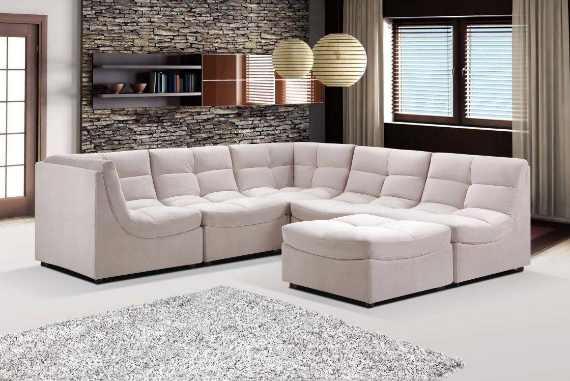 Saving Space With Modular Sectional Sofa | Lgilab | Modern Intended For Cloud Sectional Sofas (View 6 of 20)