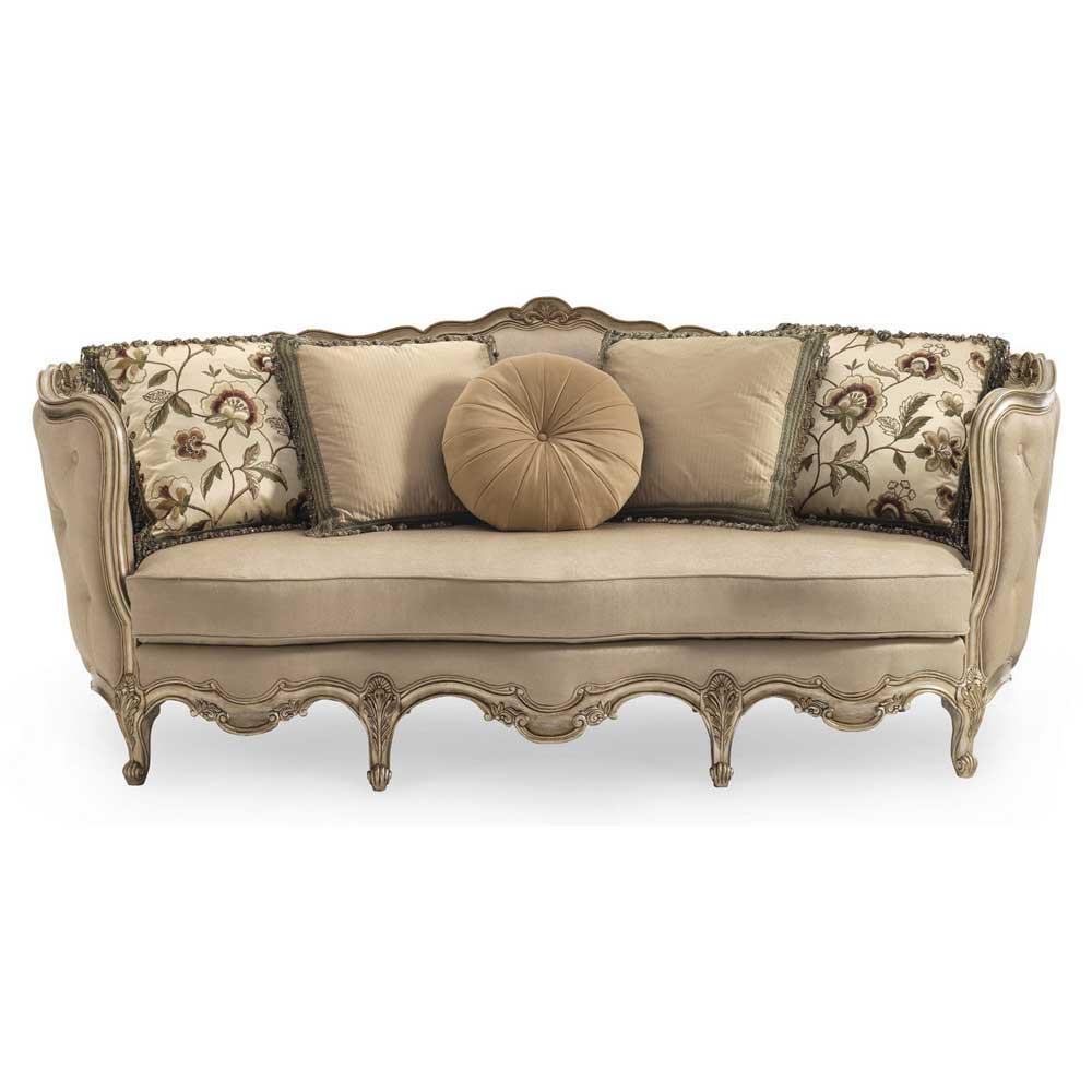 Schnadig Wood Sofa | Carolina Rustica Inside Florence Grand Sofas (View 9 of 20)