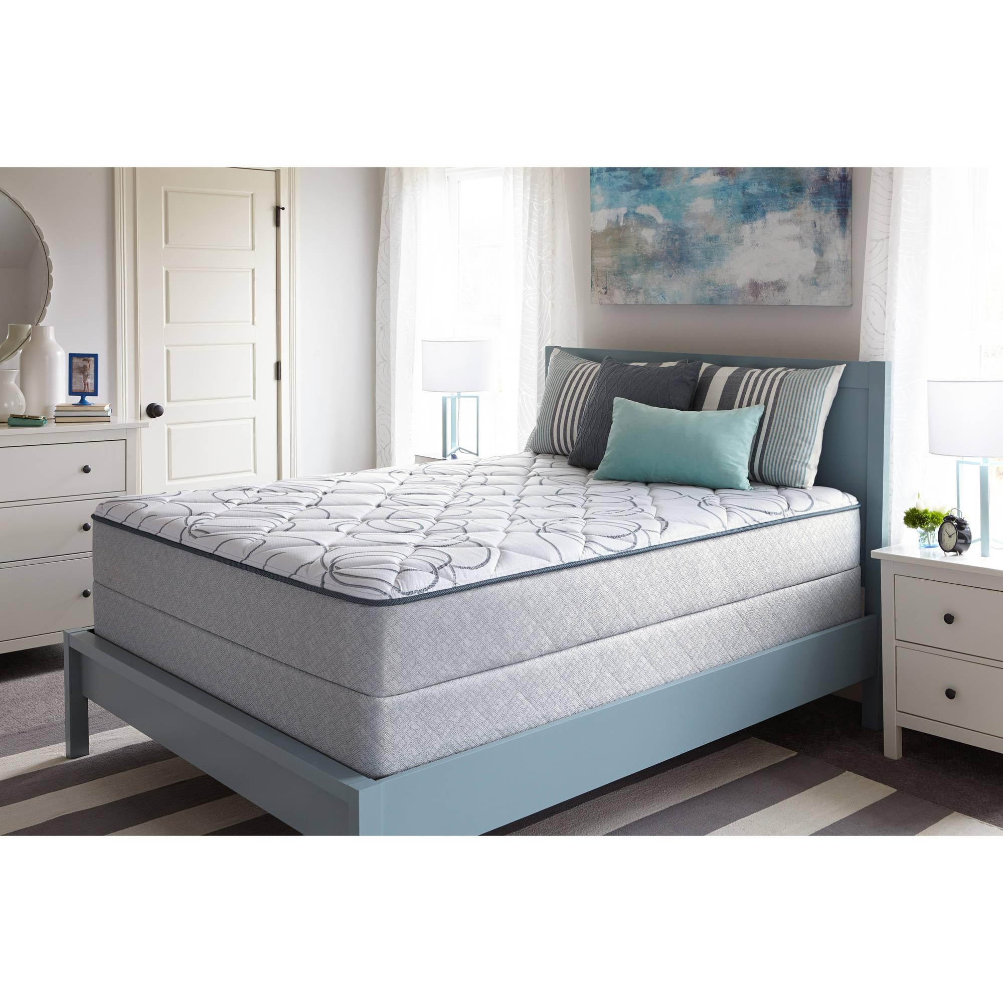 Sealy Bourdon Mattress, Firm, Multiple Sizes – Walmart Pertaining To Queen Mattress Sets (Image 19 of 20)