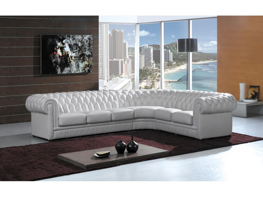 Featured Photo of High Quality Leather Sectional