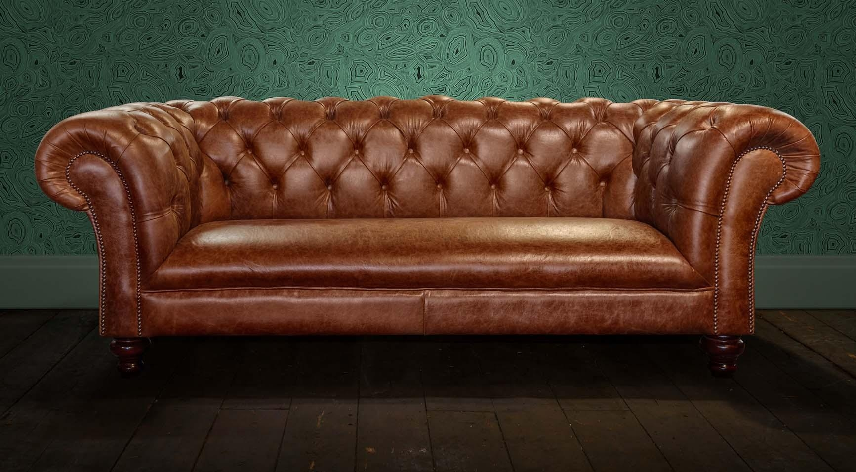 Second Hand Sofas Uk – Leather Sectional Sofa Regarding Small Chesterfield Sofas (View 19 of 20)