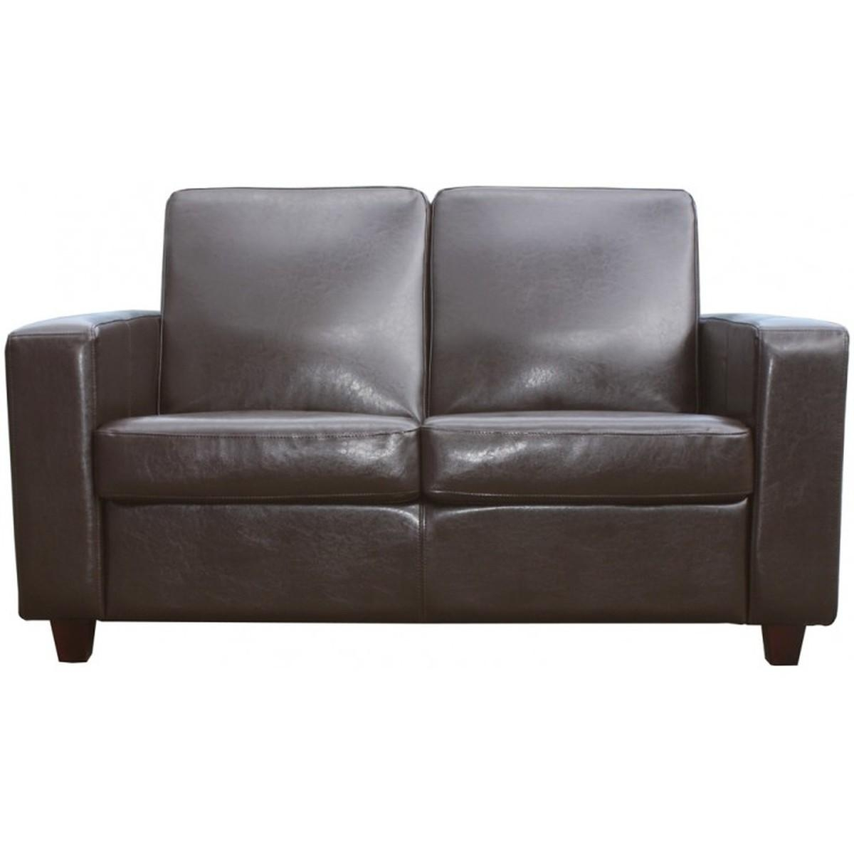 Secondhand Pub Equipment | Lounge Furniture | New Brown Leather With Commercial Sofas (Image 15 of 20)