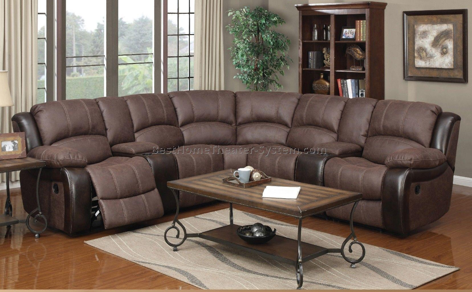 Sectional Home Theater Seating 6 | Best Home Theater Systems Within Theatre Sectional Sofas (View 6 of 20)