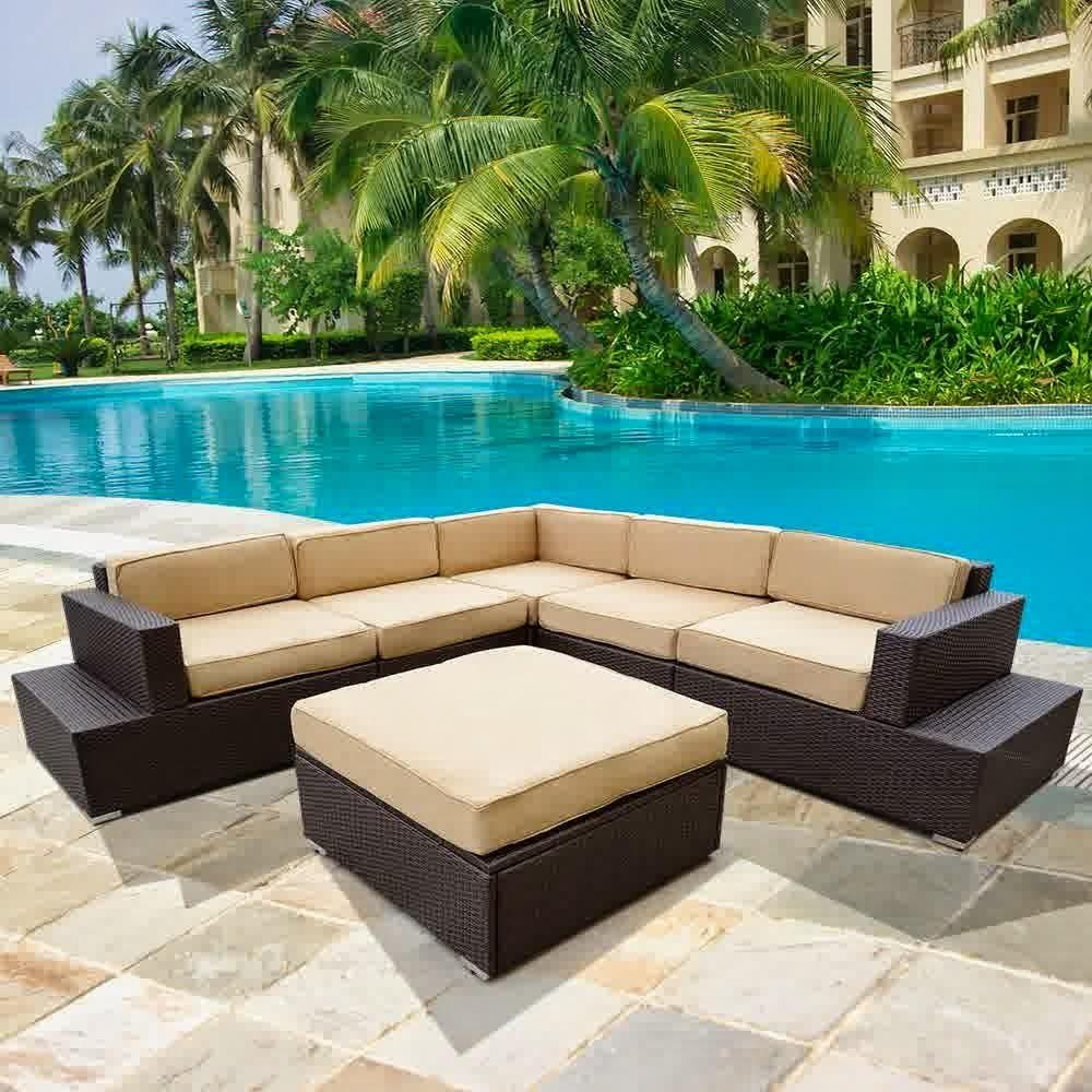 Sectional Patio Furniture Cheap | Patio Decoration Intended For Cheap Outdoor Sectionals (Image 12 of 15)