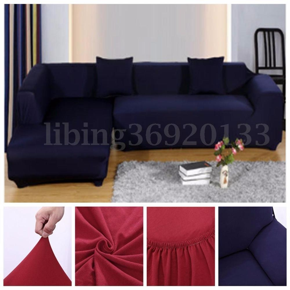 Sectional Slipcovers | Ebay For Sectional Sofa Covers (Image 17 of 20)