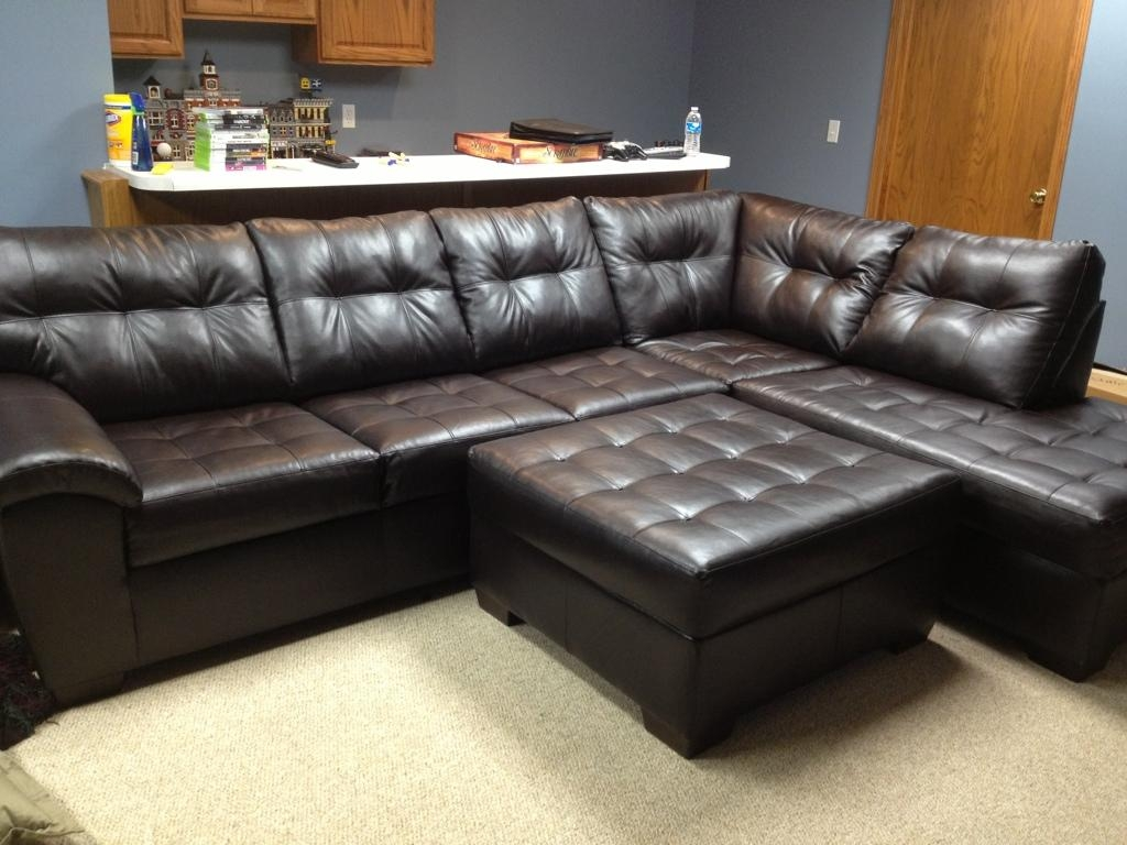 Sectional Sofa Design : Sectional Sofas Big Lots Large Square Dark Regarding Large Comfortable Sectional Sofas (View 17 of 20)