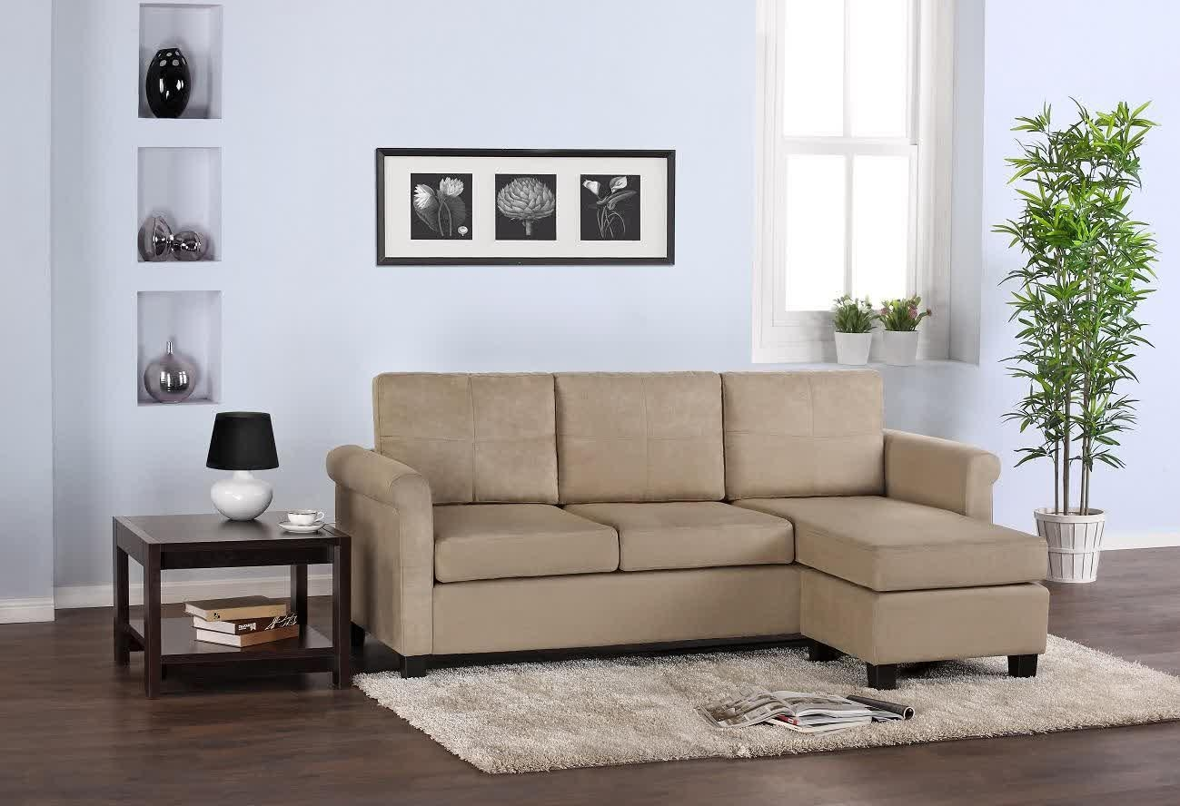 Sectional Sofa For Small Spaces | Homesfeed For Small Sectional Sofas For Small Spaces (Image 16 of 20)