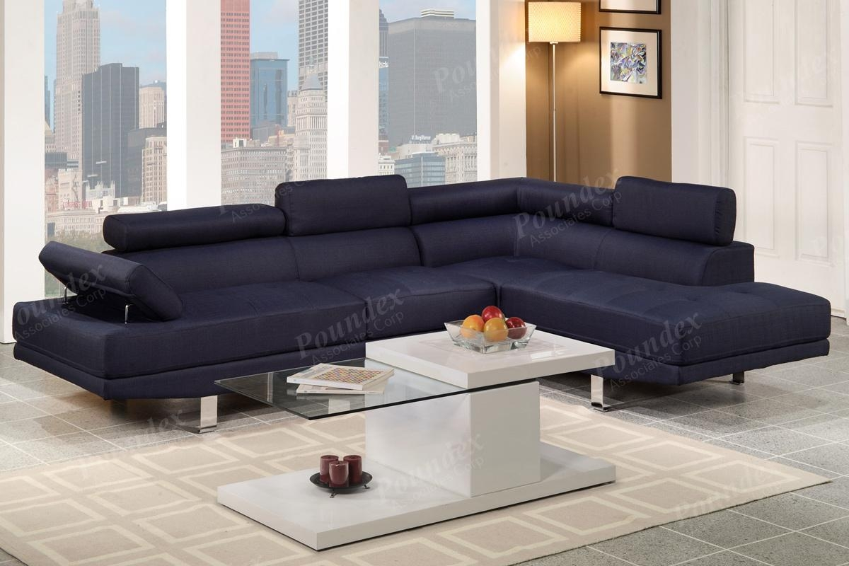 Sectional Sofa Set | Sectional Sofa | Living Room Furniture Regarding Poundex Sofas (Image 20 of 20)