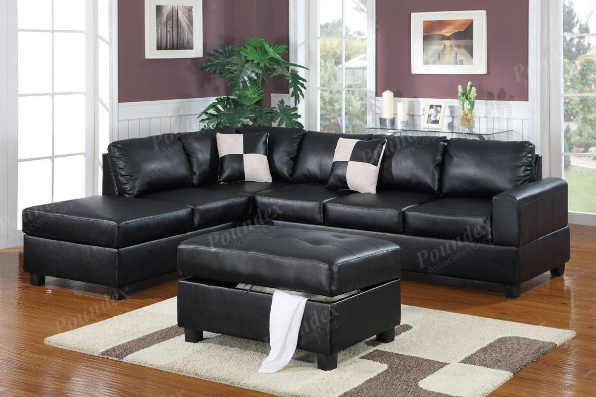 Sectional Sofa With Free Storage Ottoman Ebay Sofa Furniture Pertaining To Sectional Sofa With Storage (Image 11 of 20)