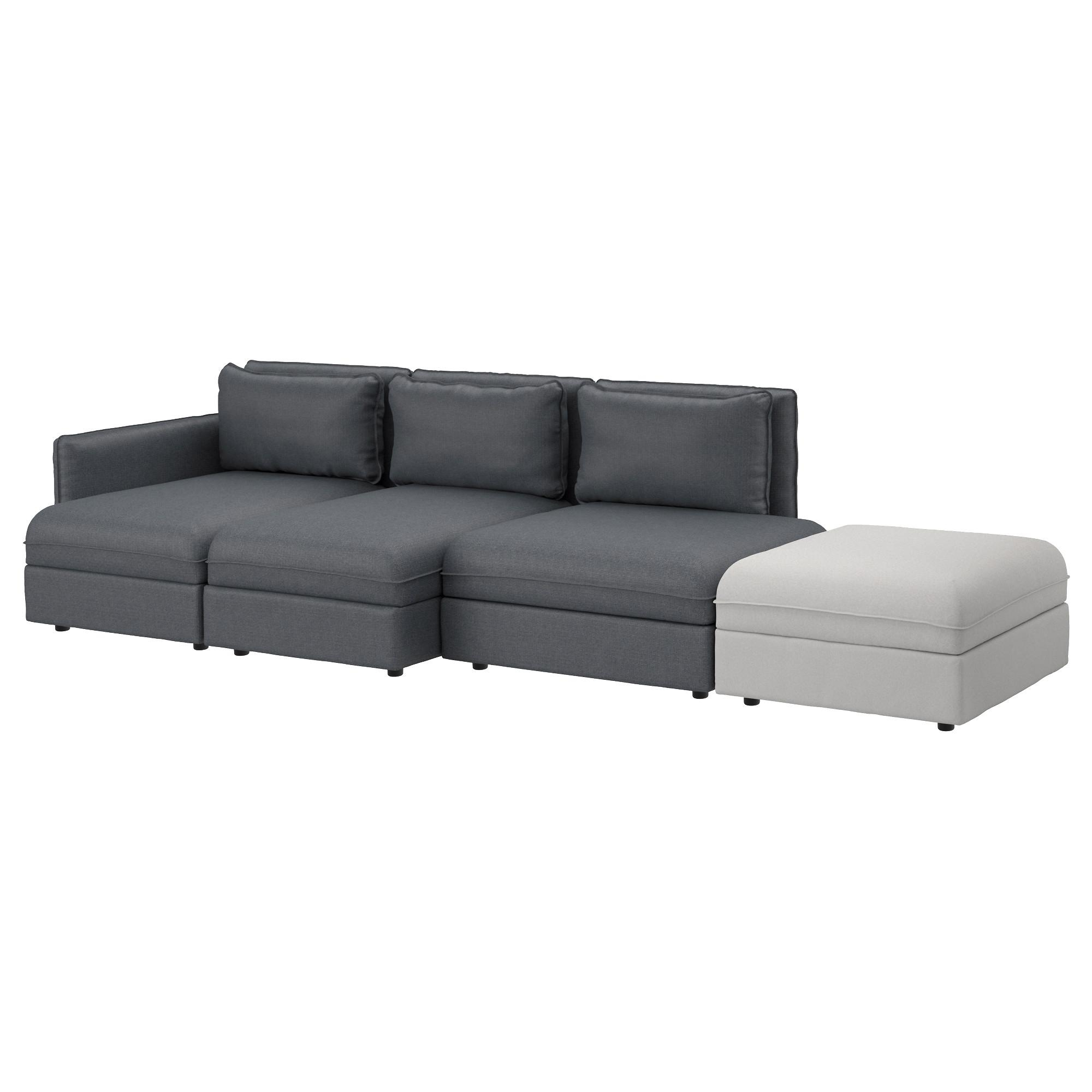 Sectional Sofas & Couches – Ikea With Charcoal Grey Leather Sofas (View 20 of 20)