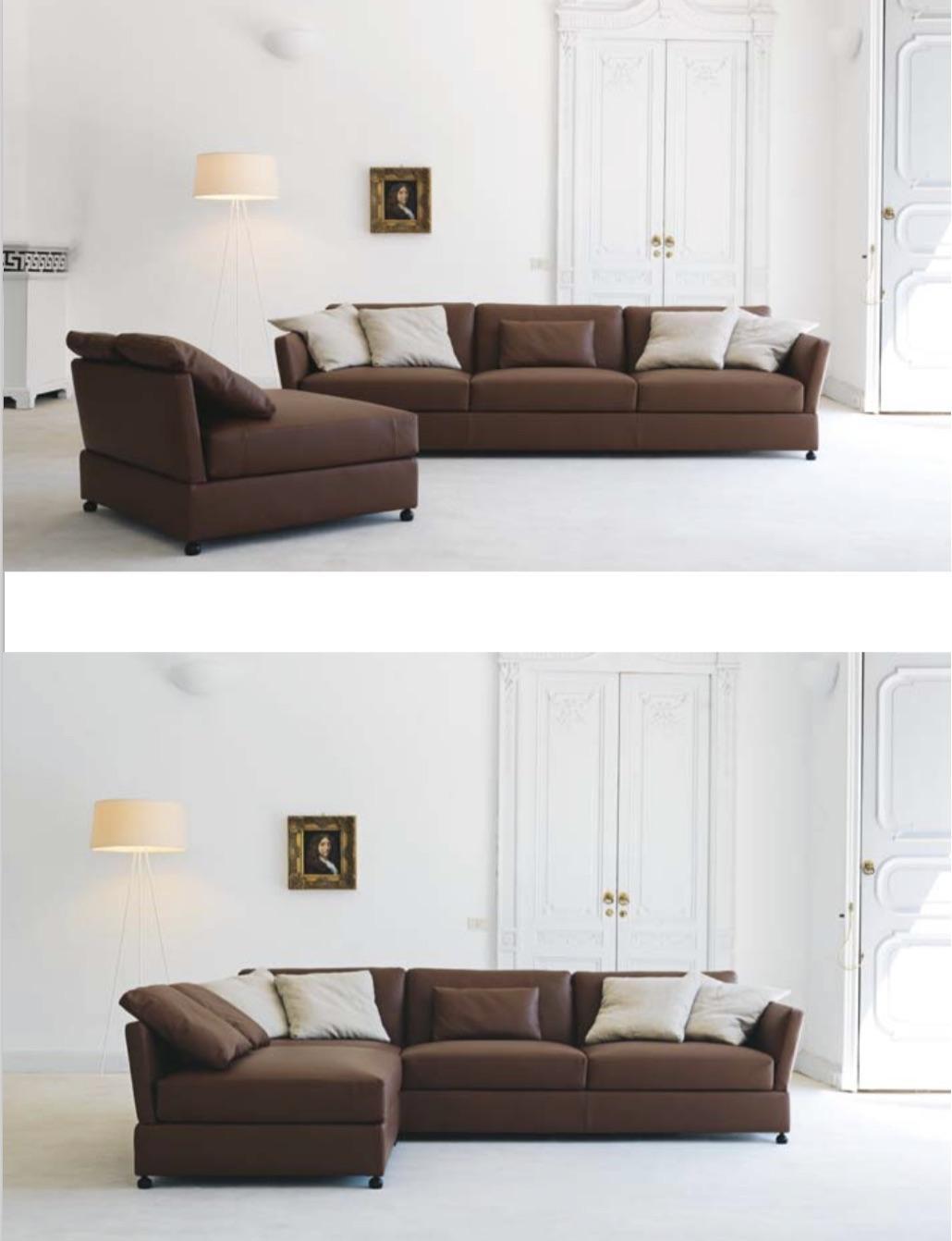 Sectional Sofas | Italian Sofas | Modern Sofas – Momentoitalia Regarding Modern Sofas (Image 20 of 20)