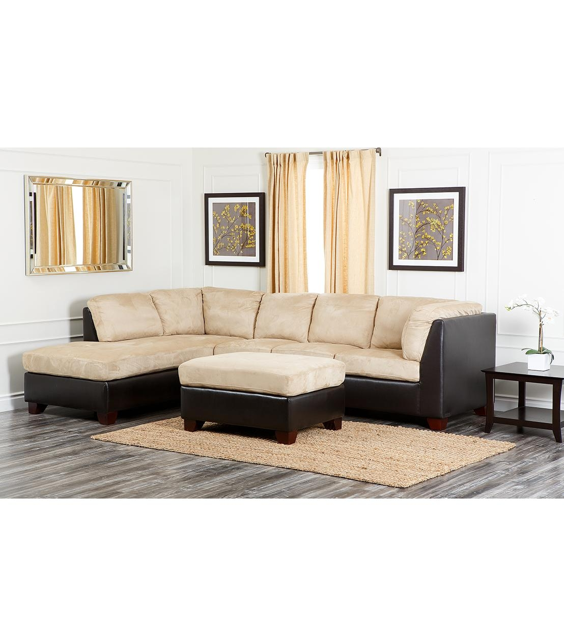 Sectionals Regarding Abbyson Living Sectional Sofas (Image 16 of 20)