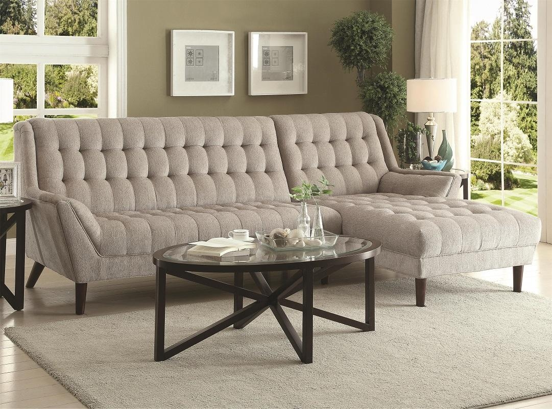 Sectionals, Upholstered – Furniture Decor Showroom In Chenille Sectional Sofas With Chaise (Image 18 of 20)