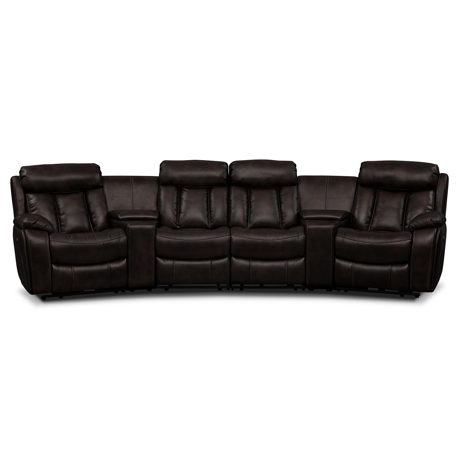 Sectionals With Cup Holders – Marketing Module | Value City Furniture In Sofas With Cup Holders (Image 15 of 20)
