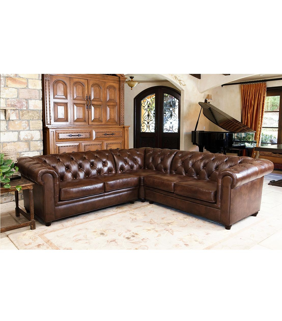 Sectionals Within Abbyson Sofas (Image 13 of 20)