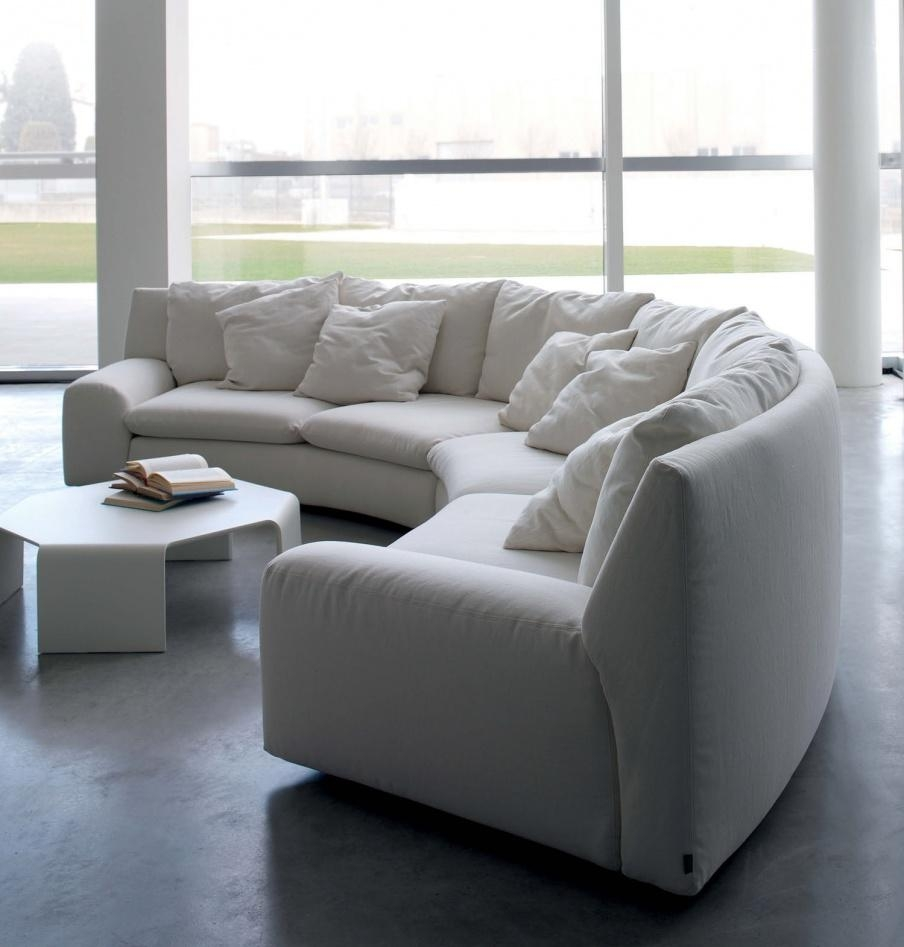 Semi Circular Sofas – Leather Sectional Sofa Throughout Semicircular Sofa (Image 8 of 20)