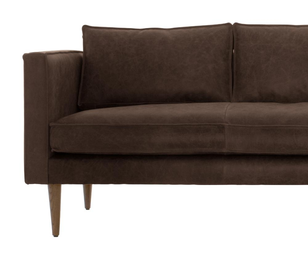Serena Leather Sofa | Joybird Inside Brompton Leather Sofas (View 7 of 20)